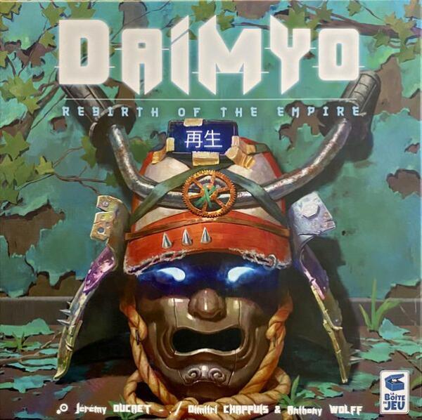 Daimyo Board Game cover artwork