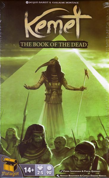 Kemet Blood and Sand Book of the Dead cover artwork