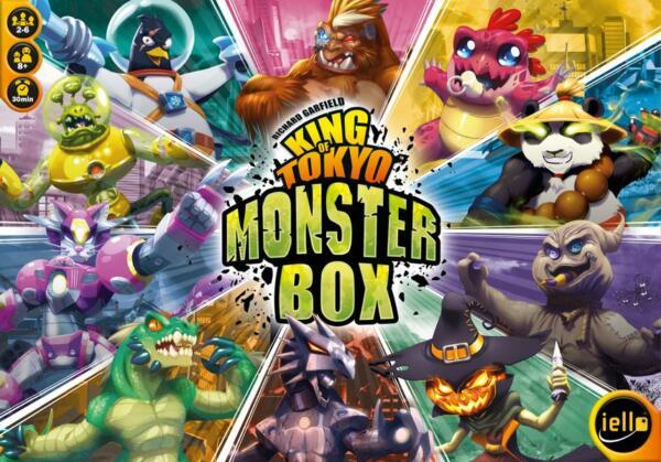 King of Tokyo Monster Box artwork