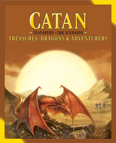 Catan Treasures Dragons and Adventurers cover