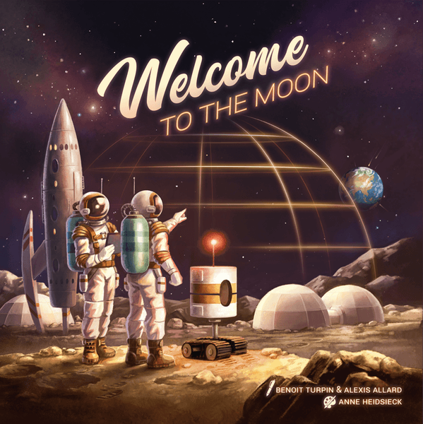 Welcome to the Moon board game cover artwork