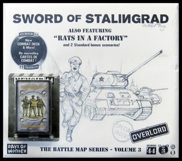 Memoir 44 Sword of Stalingrad artwork