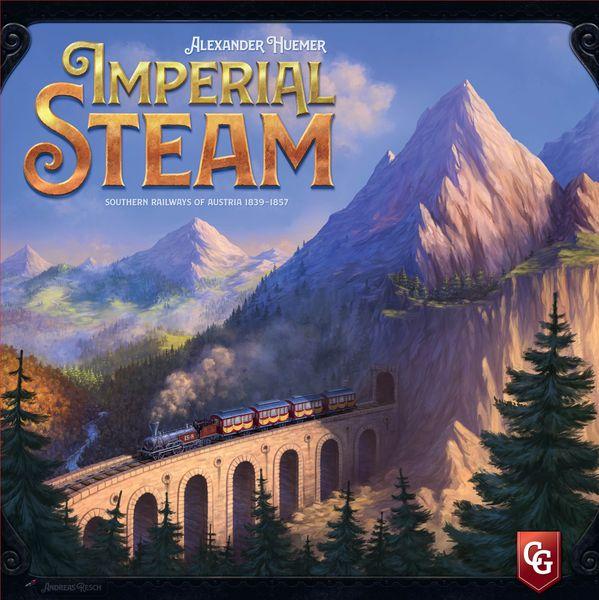 Imperial Steam board game cover artwork