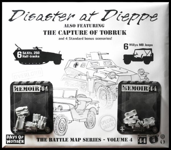 Memoir 44 Disaster at Dieppe artwork