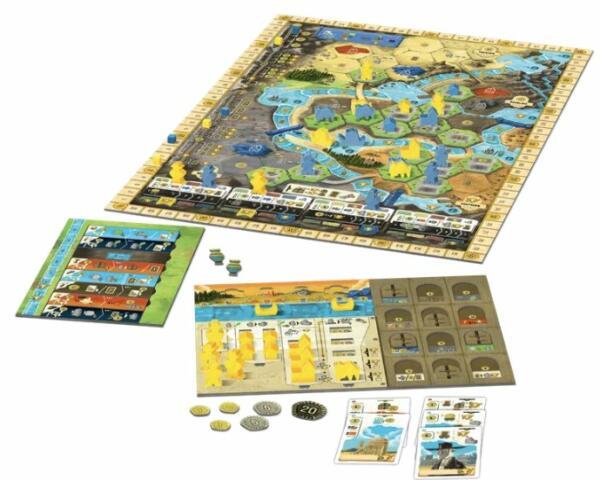 Boonlake Board Game setup