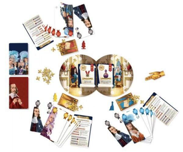 Royal Secrets card game components