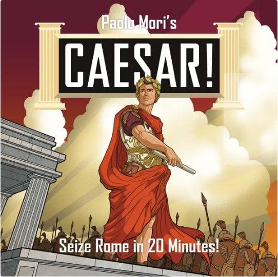 Caesar! Seize Rome in 20 Minutes cover artwork