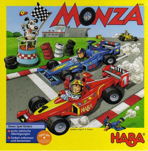 Monza board game cover