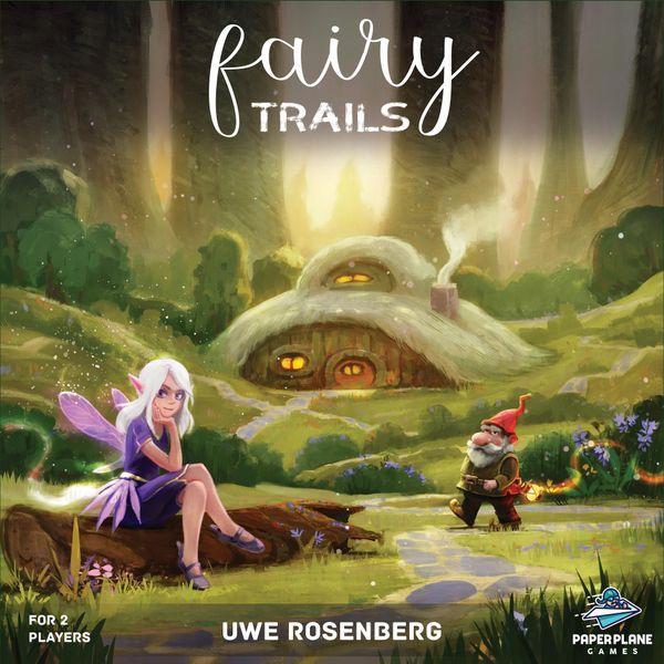 Fairy Trails Board Game cover artwork