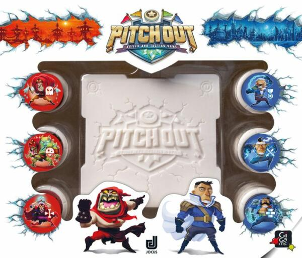 Pitch Out board game cover artwork