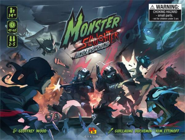 Monster Slaughter Underground cover artwork