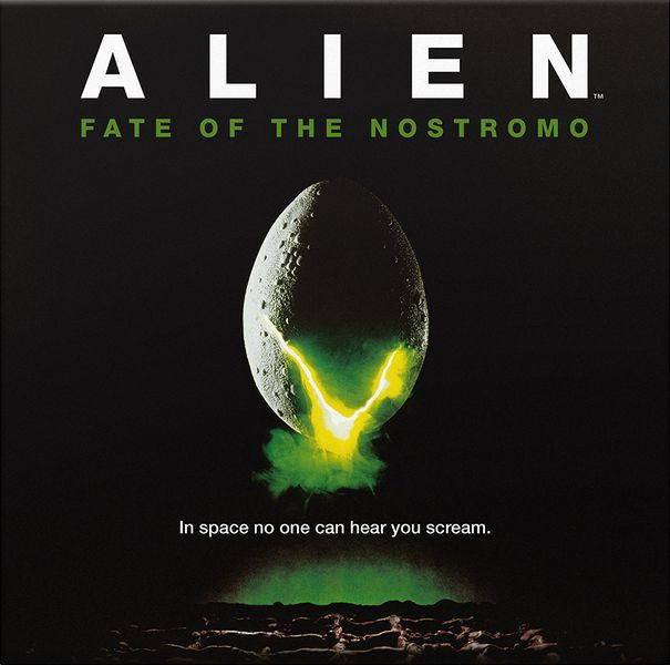 ALIEN Fate of the Nostromo cover artwork