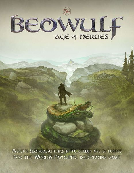 Beowulf Age of Heroes cover artwork