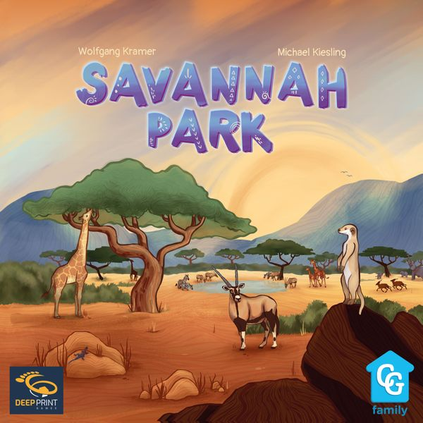 Savannah Park board game cover artwork