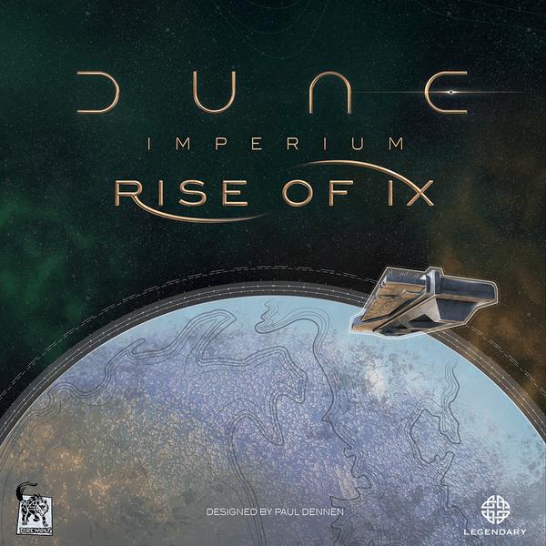 Dune Imperium Rise of Ix cover artwork