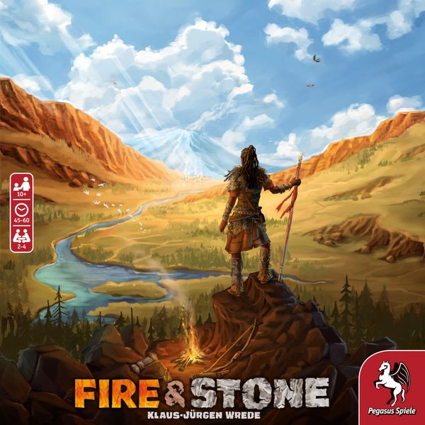 Fire and Stone Game cover artwork