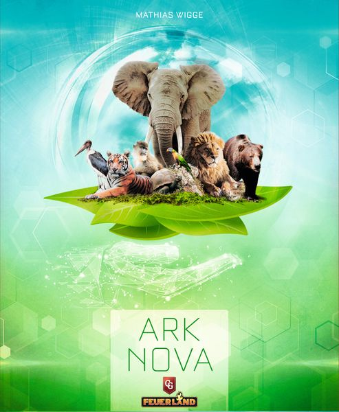 Ark Nova game cover artwork