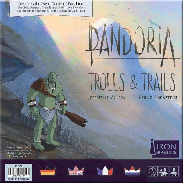 Pandoria Trolls & Trails (Irongames) cover