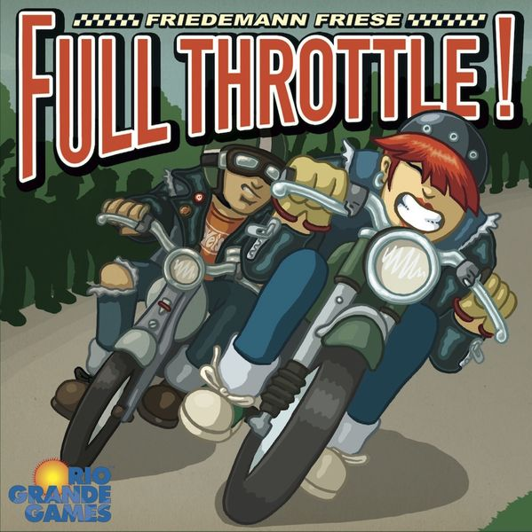 Full Throttle (2F Spiele) cover artwork