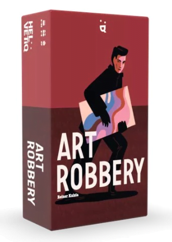 Art Robbery Card Game (Reiner Knizia) box artwork