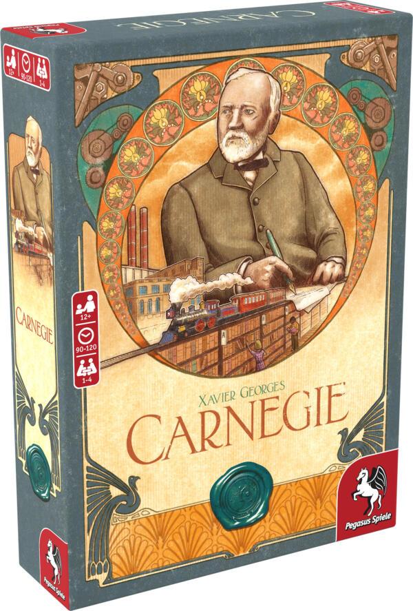 Carnegie Board Game (Pegasus Spiele) cover artwork