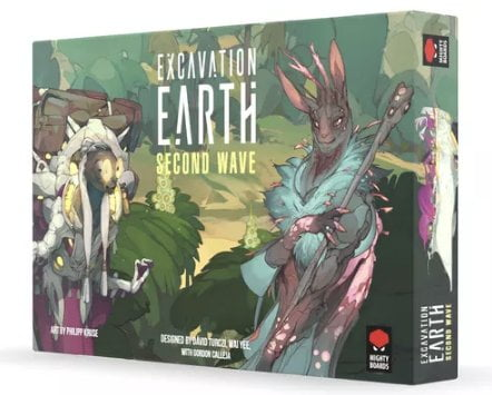 Excavation Earth Second Wave cover artwork