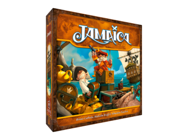 Jamaica Board Game 2nd Edition cover artwork