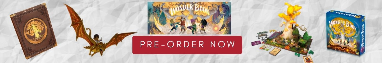 Wonder Book Pre-order Banner