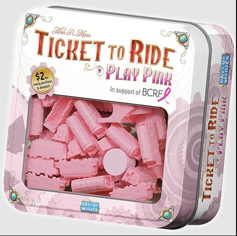 Ticket to Ride Play Pink box