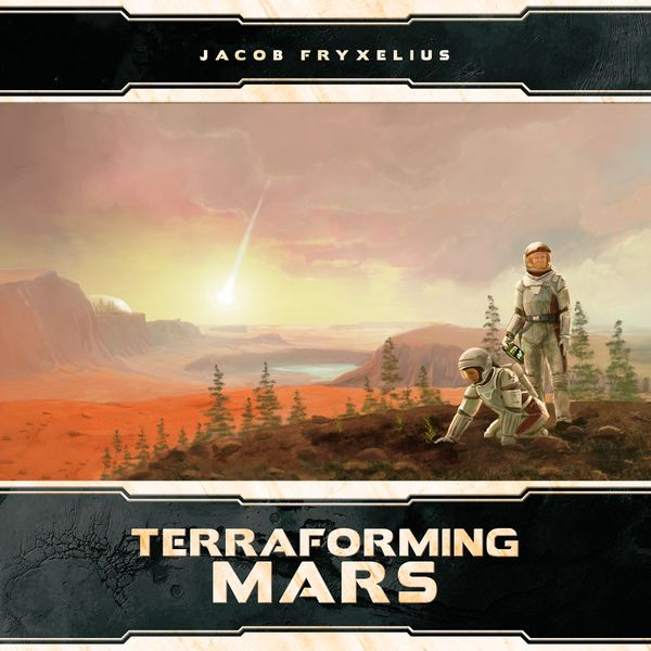 Terraforming Mars 3D Tiles (Stronghold Game) cover