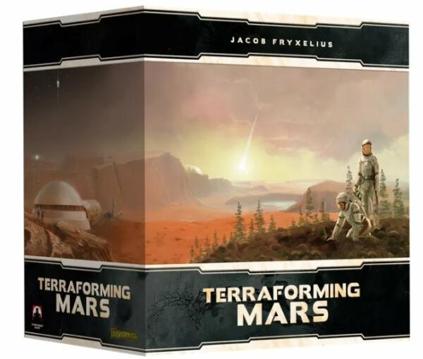 Terraforming Mars Big Box cover artwork