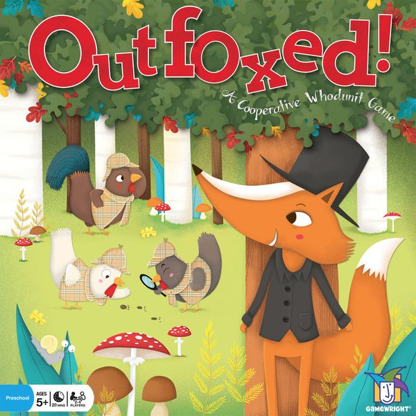 Children's Game Outfoxed (Gamewright) cover artwork