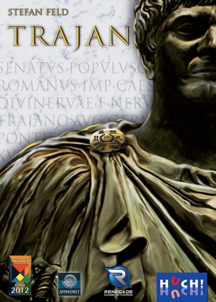 Trajan Board Game (Stefan Feld) cover