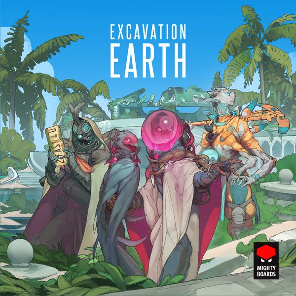 Excavation Earth cover artwork