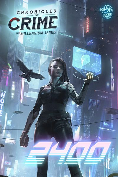 Chronicles of Crime 2400 cover artwork