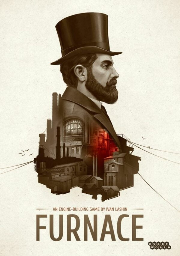 Furnace Board Game cover artwork