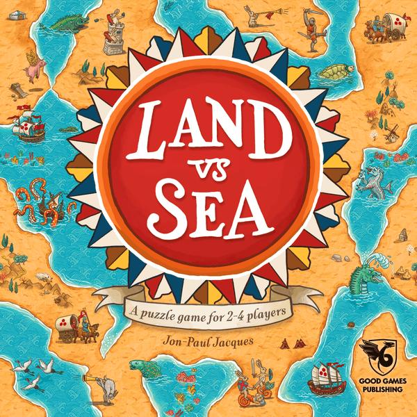 Land vs. Sea (Good Games Publishing) cover artwork