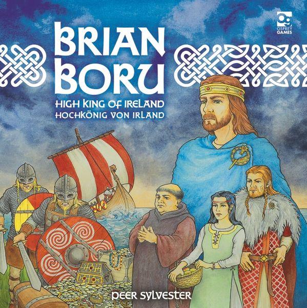 Brian Boru High King of Ireland Board Game cover artwork