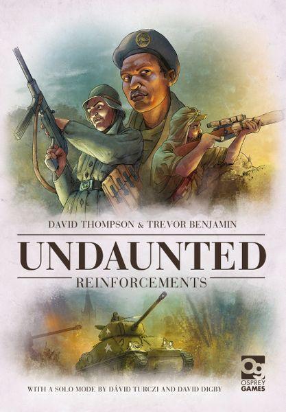 Undaunted Reinforcements (Osprey Games) cover artwork