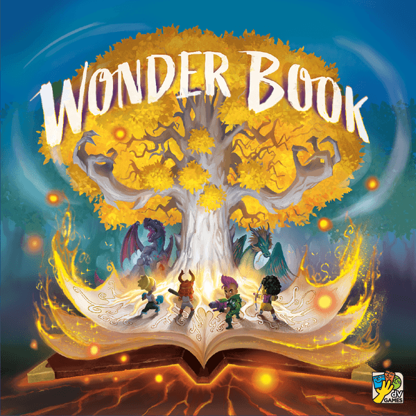 Wonder Book Board Game (dv Giochi) cover artwork