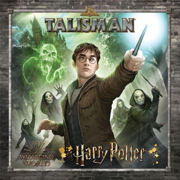 Talisman Harry Potter cover artwork