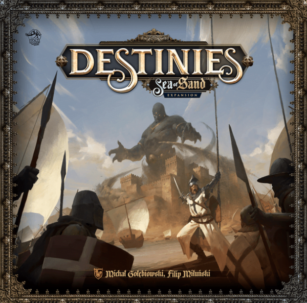 Destinies Sea of Sand (Lucky Duck Games) cover artwork