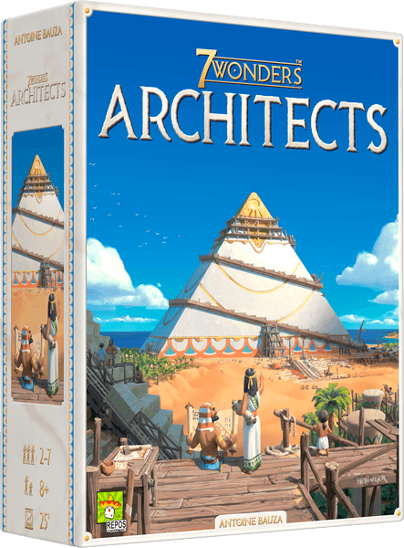 7 Wonders Architects (Repos Productions) cover artwork
