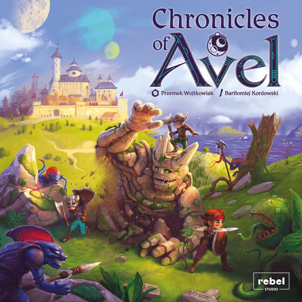 Chronicles of Avel(Rebel) cover