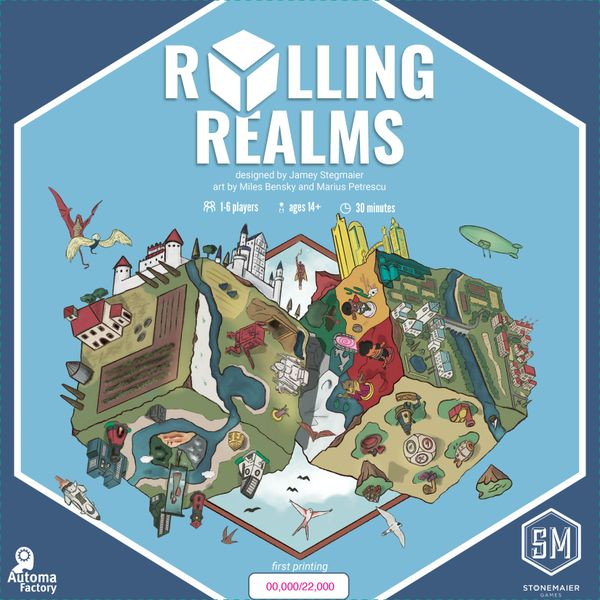 Rolling Realms (Stonemaier Games) - cover artwork