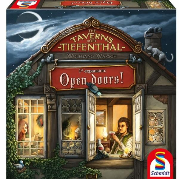 Taverns of Tiefenthal Open Doors Expansion cover