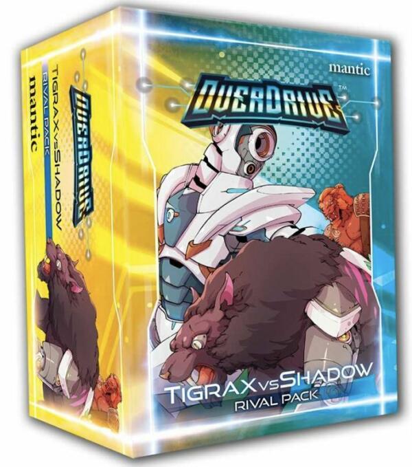 OverDrive Rival Pack Tigrax vs. Shadow box