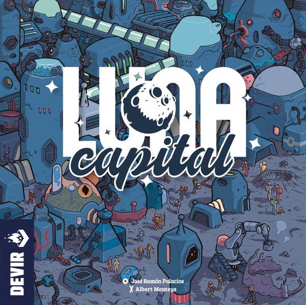 LUNA Capital Board Game (Devir) cover