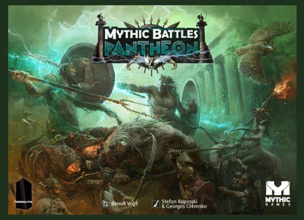 Mythic Battles Pantheon (Retail Edition) cover artwork