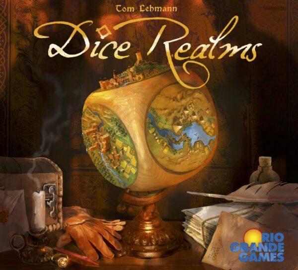 Dice Realms (Tom Lehmann / Rio Grande Games) cover artwork